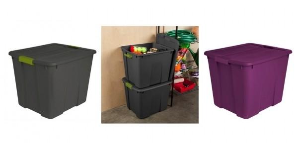 Sterilite 20 Gallon Latching Storage Totes Just $5 @ Target