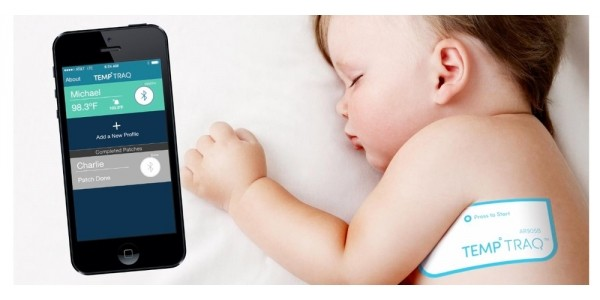 Wearable Wireless Fever Monitoring Thermometer $27 @ Amazon