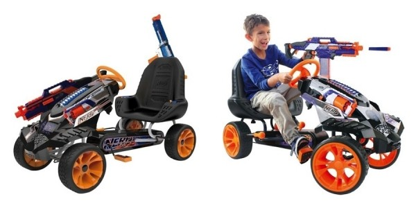 Hauck Nerf Battle Racer Pedal Car Go Kart $160 @ Target