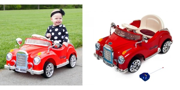 2 In 1 Remote Controlled Lil' Rider Cruisin' Coupe $100 (Reg. $175) @ Tanga