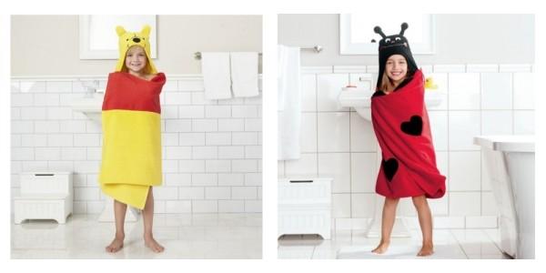 Jumping Beans Character Bath Wraps $4.20 (Reg. $30) @ Kohl's