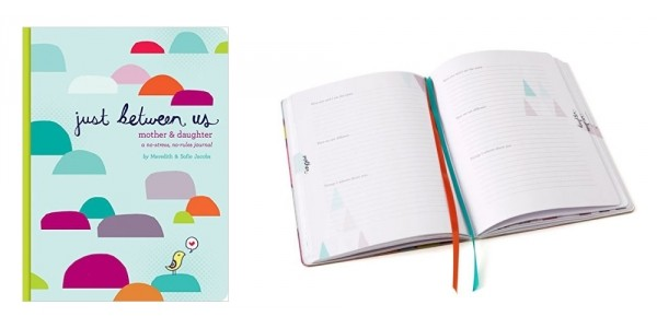 Just Between Us: Mother & Daughter Journal $13 (Plus Free Shipping) @ Amazon