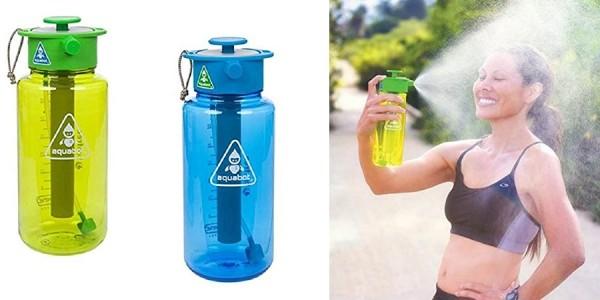 Portable Running Water Aquabot Bottle Sprayer $30 @ Amazon