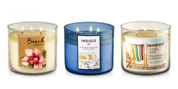 3-Wick Candles Just $8.80 Each @ Bath & Body Works