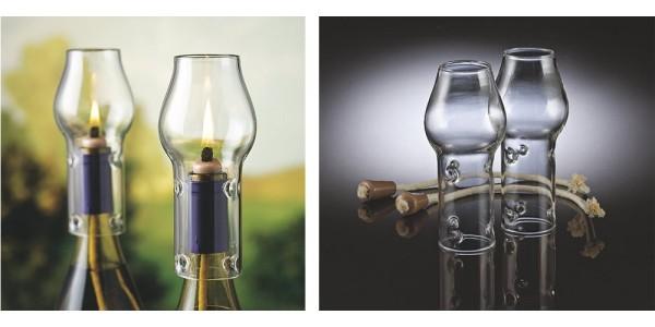 Hurricane Wine Bottle Lamp $9.99 @ Zulily