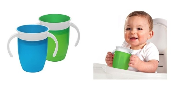 Munchkin Miracle 360-Degree Trainer Cup 2-Pack $6 @ Amazon