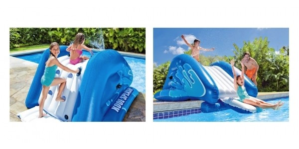 Intex Kool Splash Inflatable Water Slide Play Set with Sprayer $75 Shipped @ Walmart