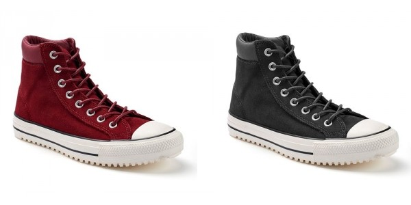 Chuck Taylor All Star Waterproof Suede Boots $24 @ Kohl's
