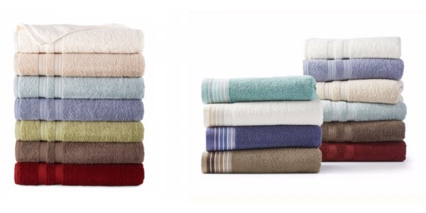 Home Expressions Indian Cotton Bath Towels $2.99 Shipped @ JC Penney