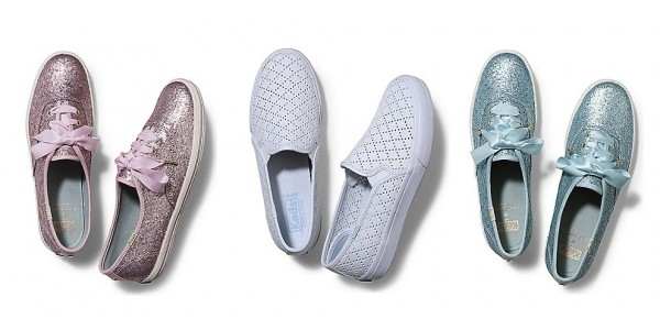 Private Sale + Extra 20% Off = Keds X Kate Spade Glitter Shoes $57 Shipped & More @ Keds