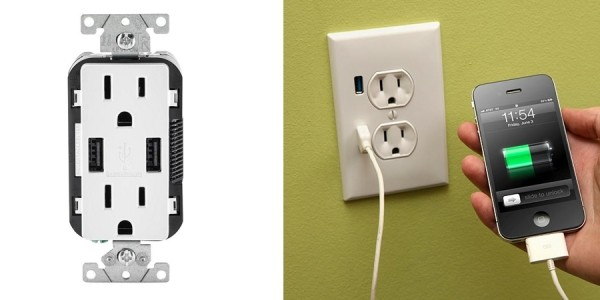USB Wall Outlets Only $23 Each @ Home Depot