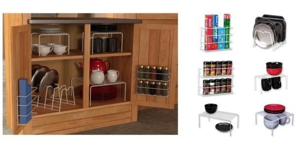 Quick! Grayline 6-Piece Cabinet Organizer Set Just $9 @ Amazon