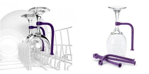 Quirky Tether Wine Glass Dishwasher Savers $10 @ Amazon