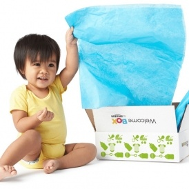 FREE Baby Welcome Box @ Amazon