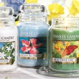 3 for $33 Large Candles @ Yankee Candle