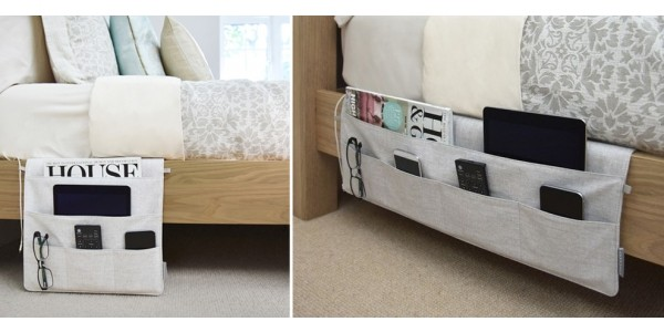 Bedside Caddy Storage $29.99 (w/ Free Store Pickup) @ The Container Store