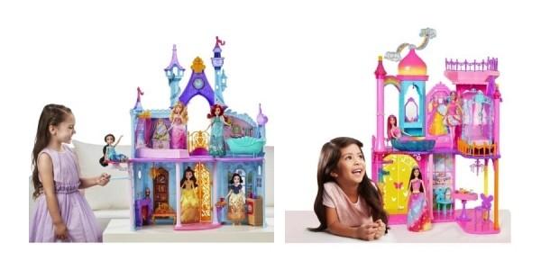 Disney Princess Royal Dreams Castle or Barbie Rainbow Cove Princess Castle Just $40 Shipped @ Walmart