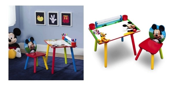 Disney Mickey Mouse Art Desk with Paper Roll $20 @ Toys R Us