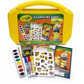 Crayola Minions Art Case $5 @ Walmart
