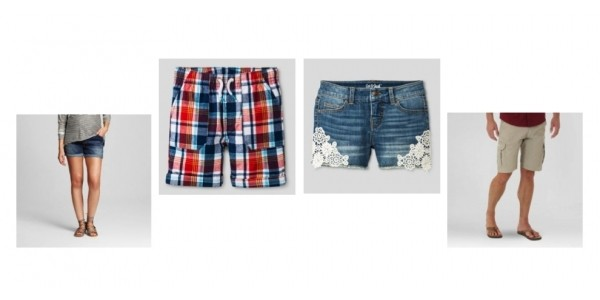 30% Off Shorts For The Whole Family w/ Code @ Target