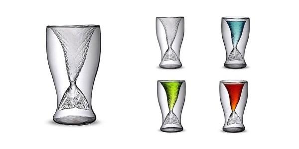 Mermaid Glass Just $4 @ Wish