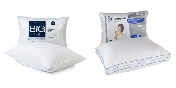 The Big One & Sealy Posturepedic Pillows From Just $2 @ Kohl's