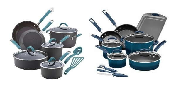 Rachael Ray 14-Piece Cookware Sets $55 After Sale + Stacking Codes, Rebate & Kohl's Cash @ Kohl's