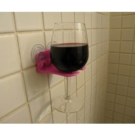 Bath Wine Glass Holders $10 Shipped @ Amazon