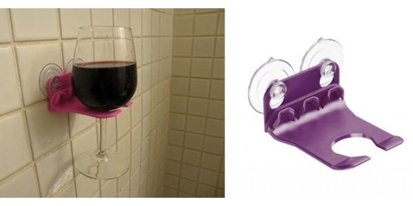 Shower & Bath Wine Glass Holders $10 Shipped @ Amazon