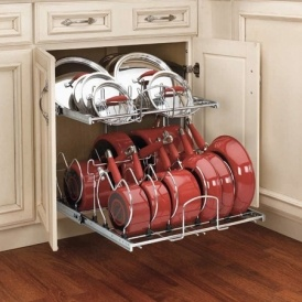 Pull Out Cookware Organizer Only $146 @ Jet