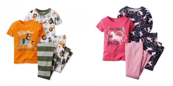 Today Only! 50% Off Pajamas + Extra 20% Off + Free Shipping @ Carter's