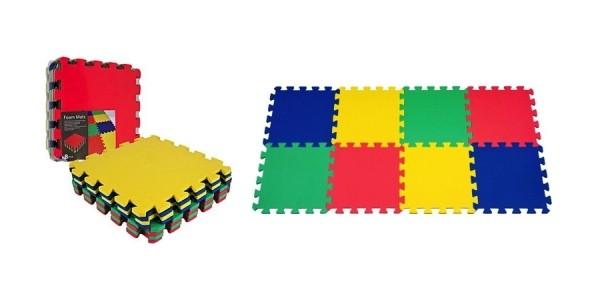 8-Piece Multicolor EVA Foam Mat Set Just $8 Today Only @ Staples