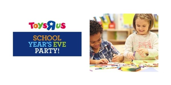 Free School Year's Eve Party This Weekend @ Toys R Us