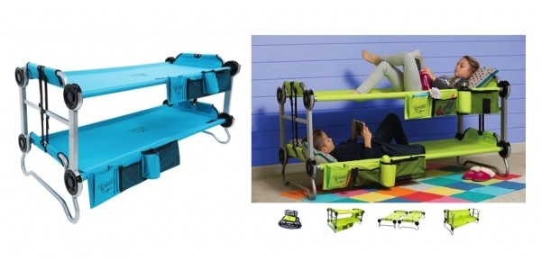 Kid-O-Bunk Portable Cots by Disc-O-Bed With Organizers $242 @ Bed Bath & Beyond