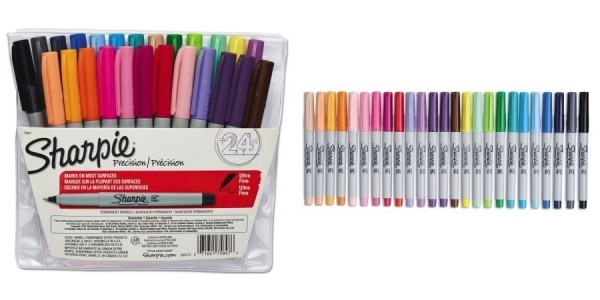 24-Count Sharpie Ultra Fine Point Assorted Permanent Markers Just $9 @ Walmart