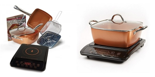 Copper Chef XL Induction Cooktop And Casserole Pan Set $93 (Reg. $150) @ Kohl's