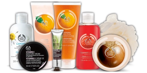 Buy 3 Get 3 Free Products @ The Body Shop