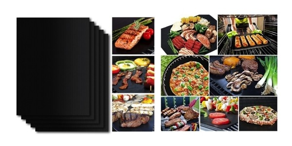 Set of 5 Shine Hai Non-Stick Grill & Baking Mats Just $5.50 w/ Code @ Amazon