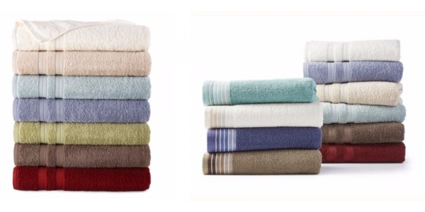 Today Only! Home Expressions Bath Towels Only $2.10 (Reg. $10) @ JC Penney