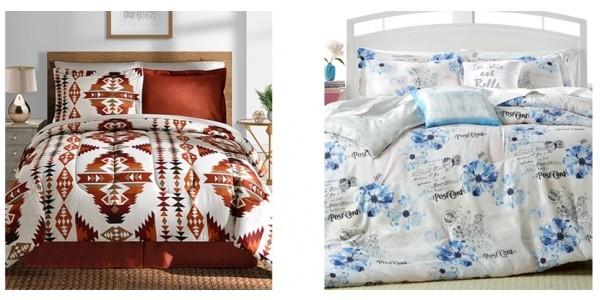 12 Piece Reversible Comforter Sets $40 (Reg. $100) @ Macy's