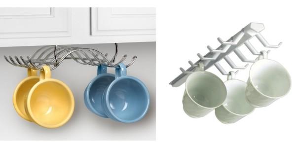 Under The Cabinet Sliding Cup Rack $4.99 @ Bed Bath & Beyond