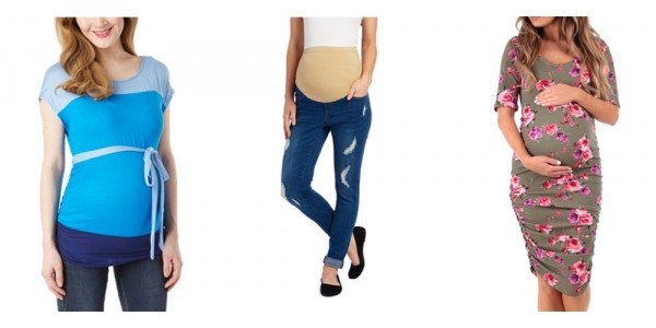 Mom & Co. Maternity Clothing 60-75% Off + Additional $10 Off @ Zulily