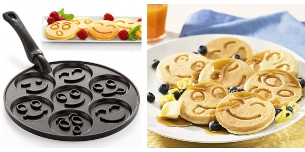Smiley Face Pancake Pan Only $26 @ Amazon