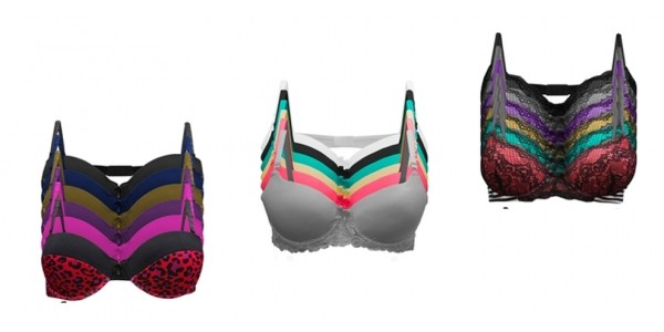 6 Pack Mystery Bras $20 + Free Shipping @ Tanga