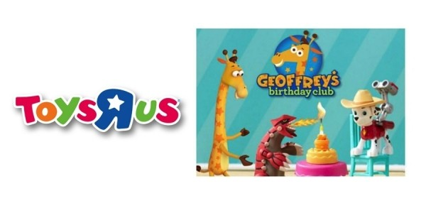Free Geoffrey's Celebration Play Events in August, September & October @ Toys R Us