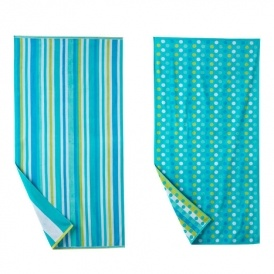 The Big One Beach Towels 4 for $19 @ Kohls