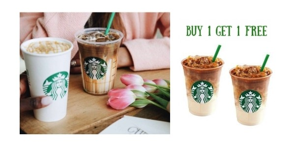 Buy One, Get One Free Macchiatos @ Starbucks