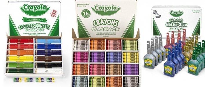 Crayola Essentials Up To 68% Off Today