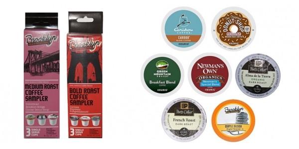 Free K-cups Coffee Sample Box @ Amazon