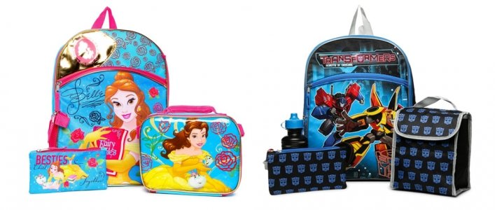 5-Piece Backpack Sets Only $10 Each @ Hollar